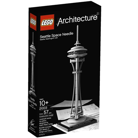 Do choi lego thap Space Needle