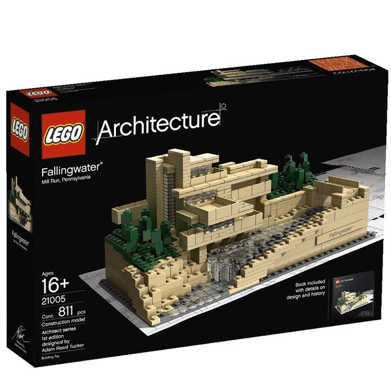 LEGO 21005 Thac nuoc Fallingwater