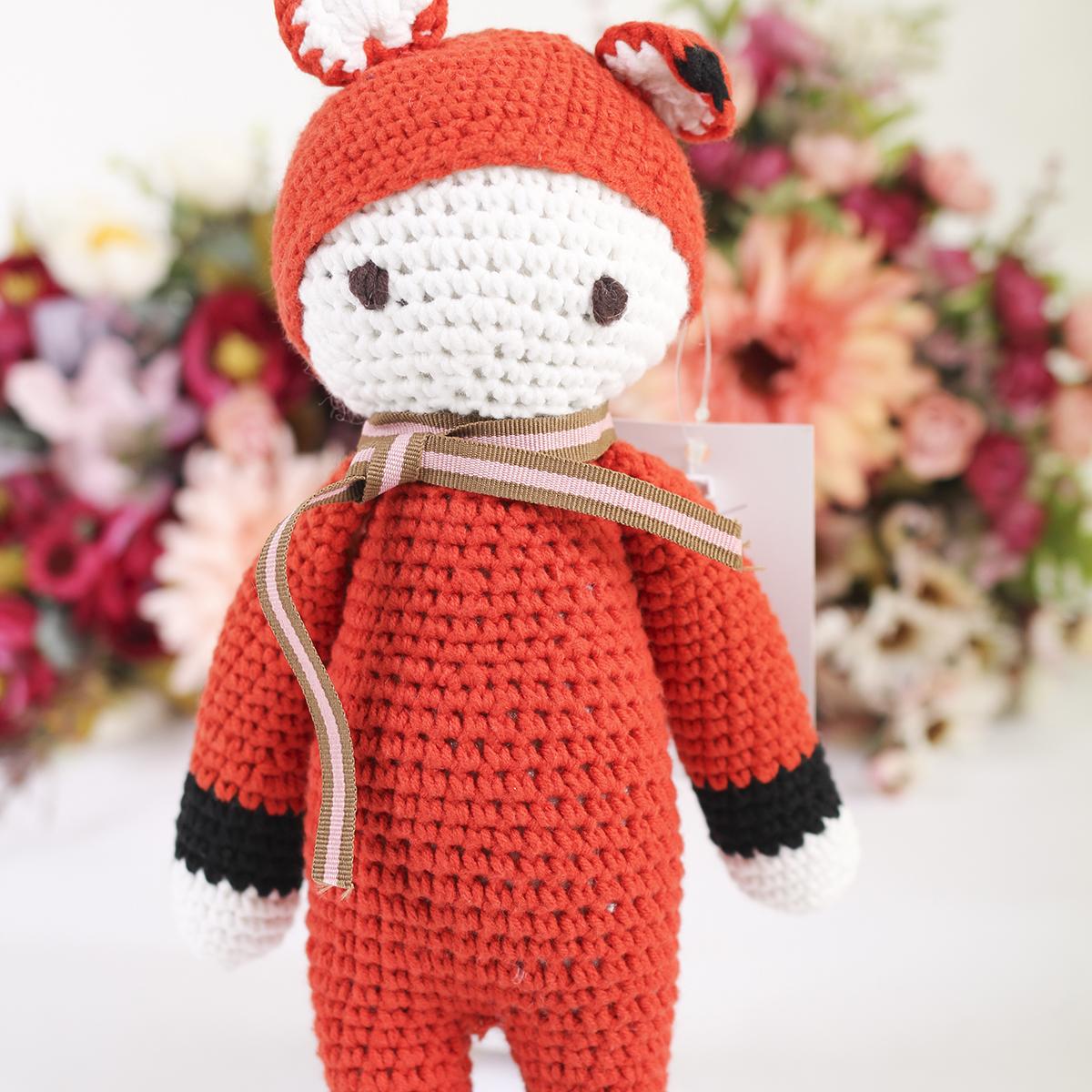 Thu dan len handmade nguoi cao