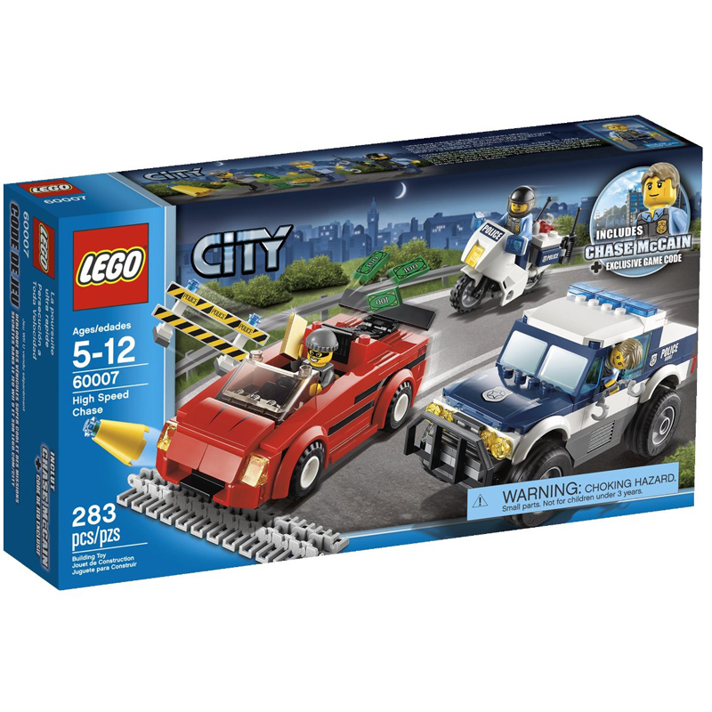 Do choi LEGO City 60007 - Duoi Bat Toc Do