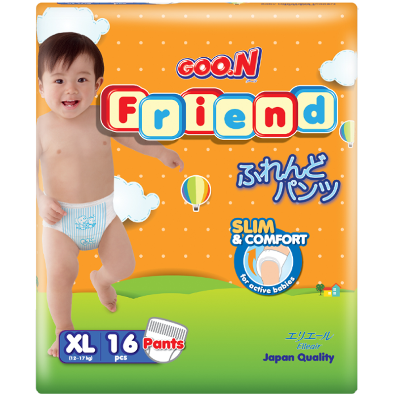 Bim quan Goon Friend size XL cho be