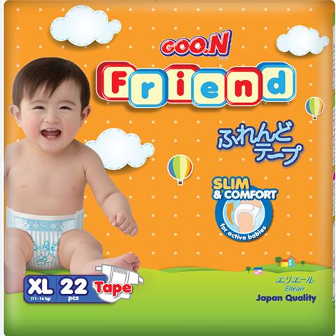 Ta dan Goon Friend XL22 cho be