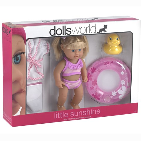 Bup be do choi Dolls World - Di bien cung be