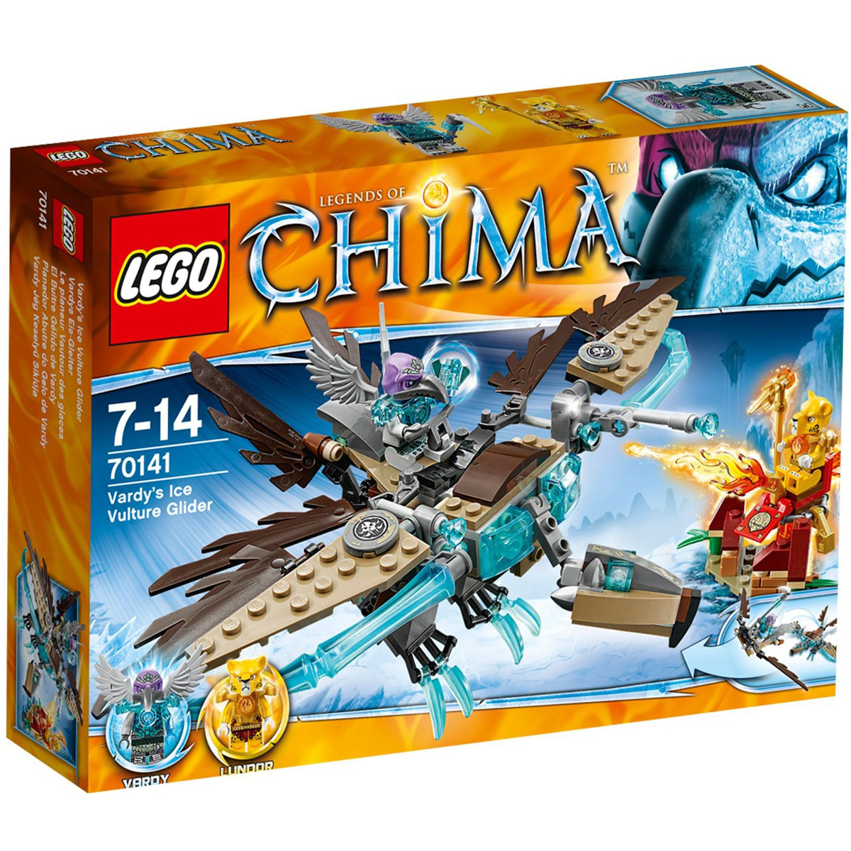 Do choi LEGO 70141 - May Bay Bang Gia Ken Ken