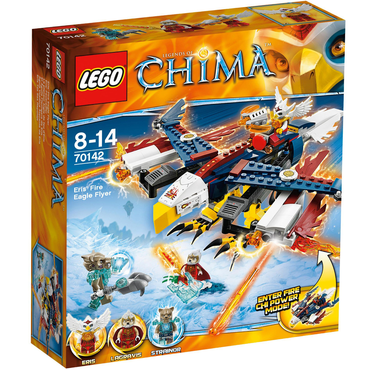 Do choi LEGO 70142 - May Bay Chien Dau Lua Cua Eris