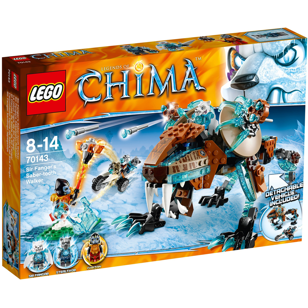 Do choi LEGO 70143 - Co May Chien Dau cua Ho Bang