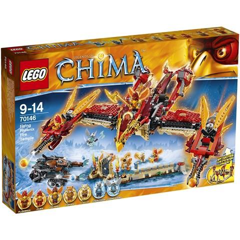 Do choi LEGO 70146 - Ngoi Den Phuong Hoang Lua