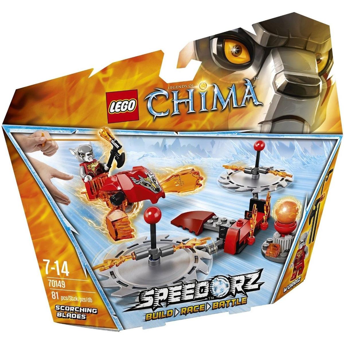 Do choi LEGO 70149 - Thu Thach Luoi Cua