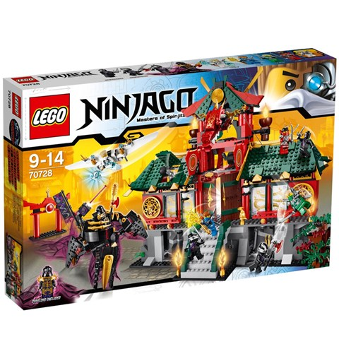 Do choi LEGO 70728 - Tran Chien Tai Thanh Pho May Moc
