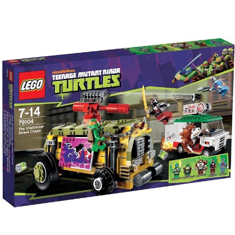 Do choi LEGO 79104 - Ruot Duoi Tren Xe Buyt Rua