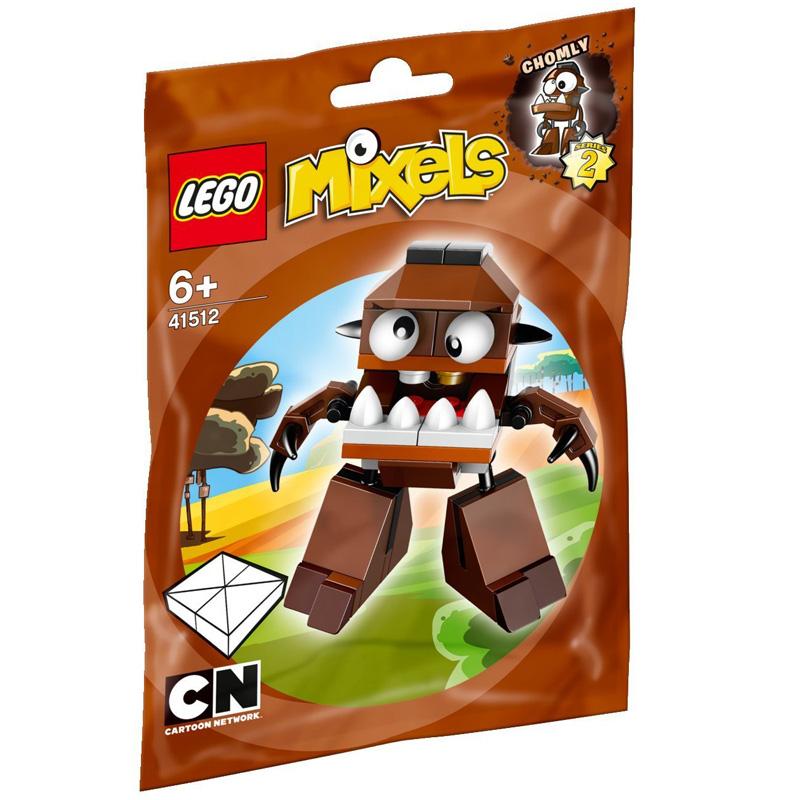 Mo hinh LEGO Mixels Sinh Vat Chomly - 41512