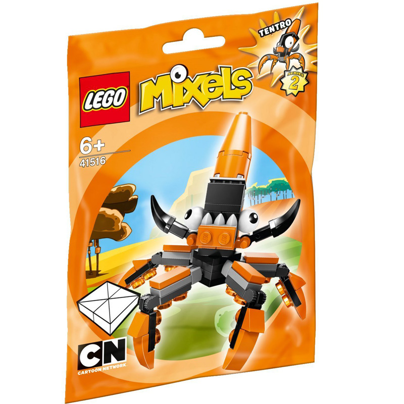Mo hinh LEGO Mixels Sinh Vat Tentro - 41516