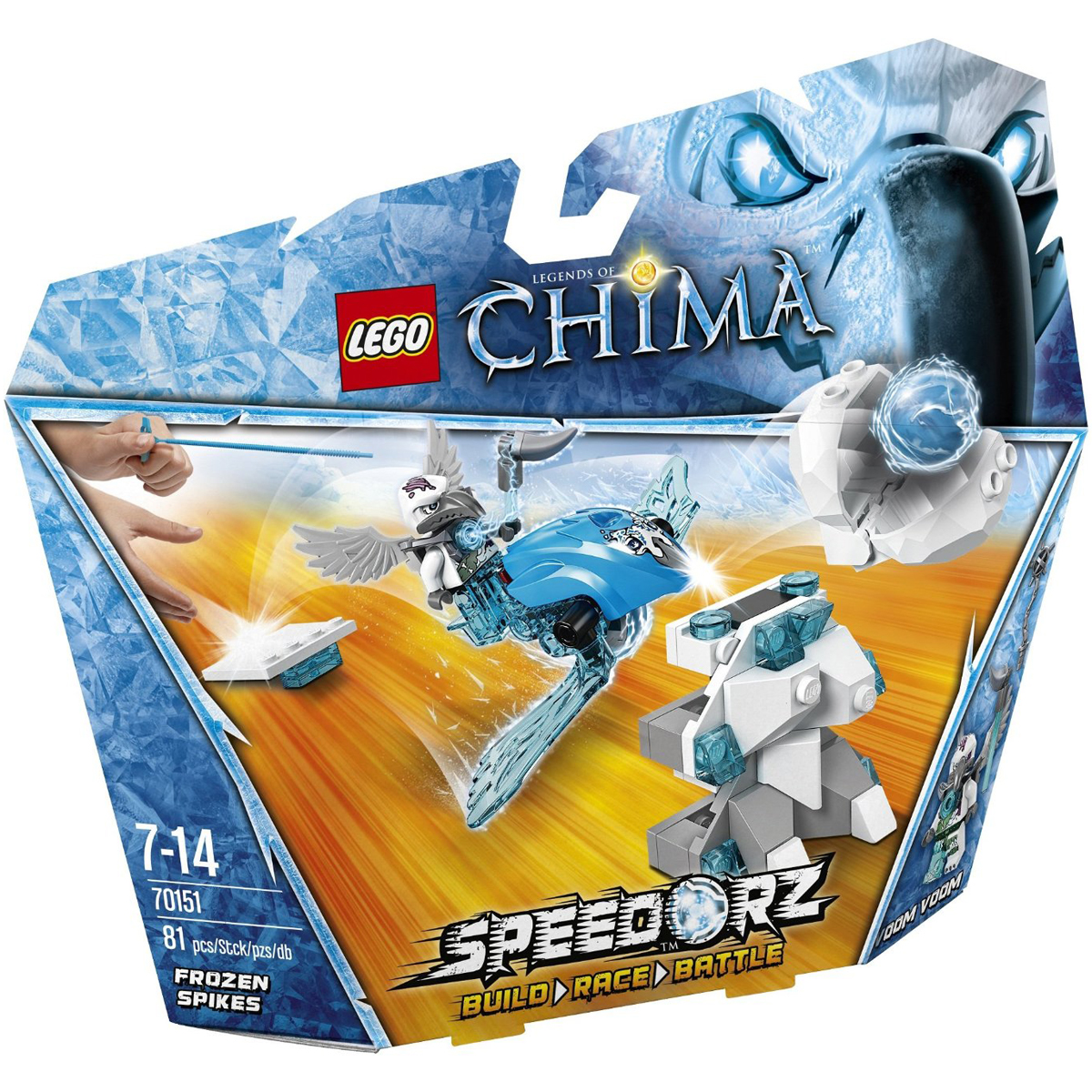 Do choi LEGO 70151 - Mui Ten Bang Gia