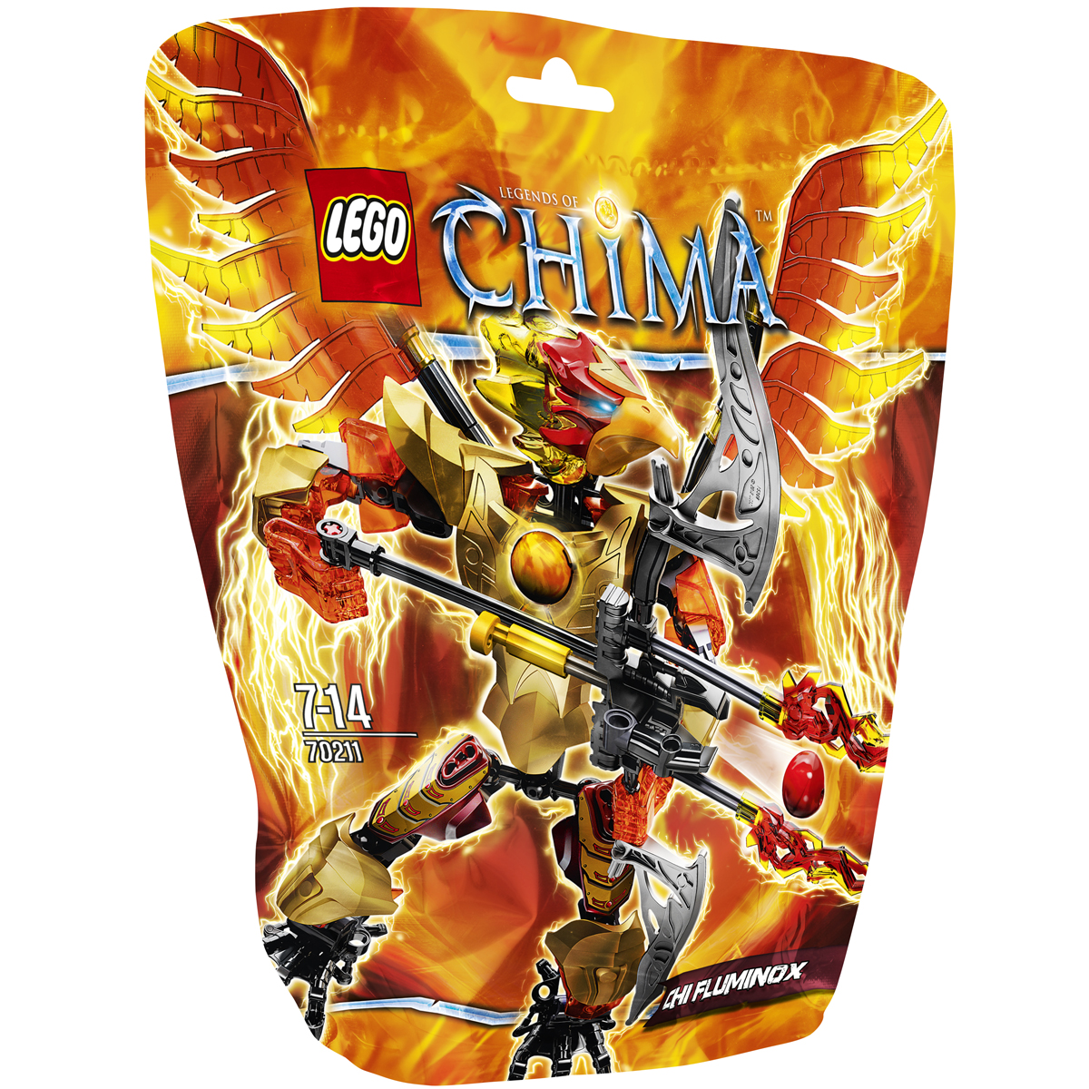 Do choi LEGO 70211 - Chien Binh Lua Fluminox