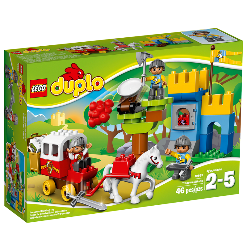 Do choi LEGO Duplo 10569 - Tan Cong Kho Bau