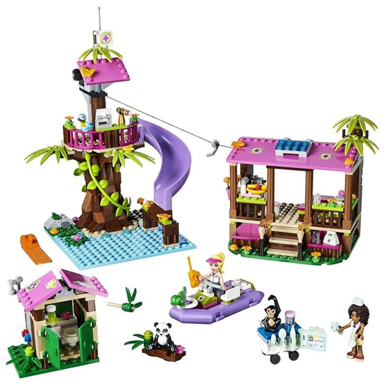 Do choi LEGO Friends 41038 - Can cu giai cuu rung xanh