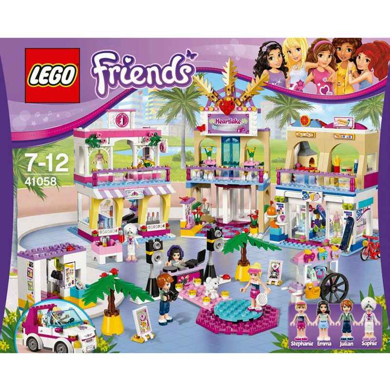 Do choi LEGO Friends 41058 - Trung tam thuong mai thanh pho