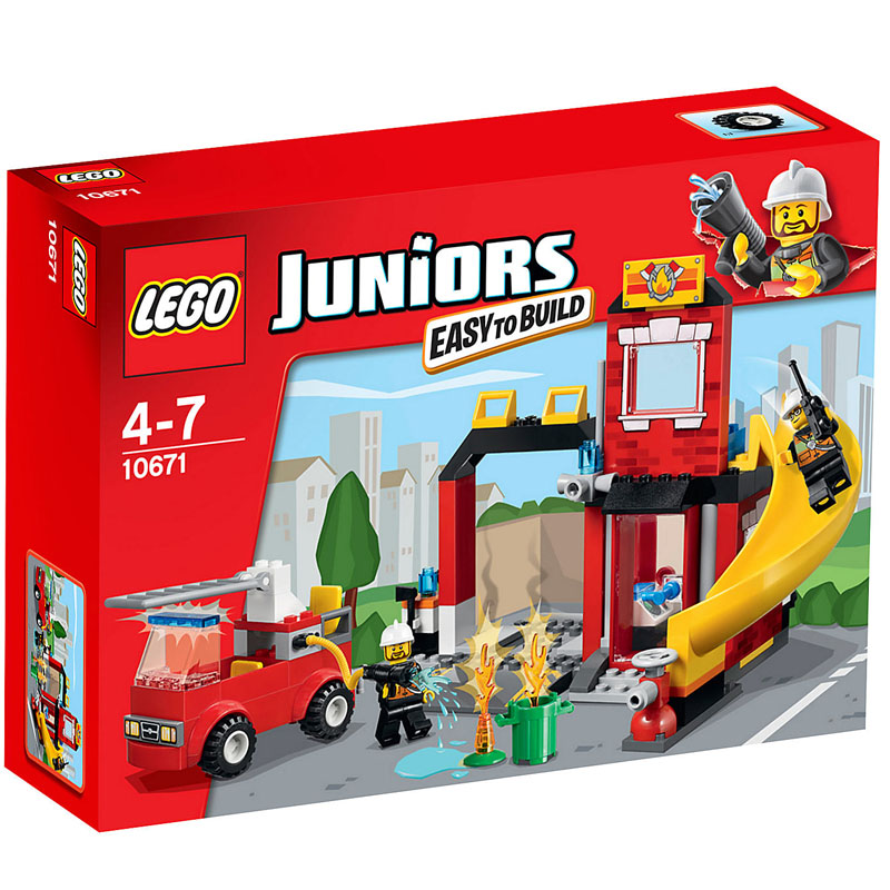 Do choi Lego Juniors 10671 - Cuu Hoa Khan Cap