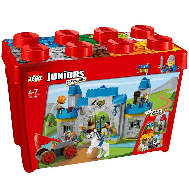 Do choi Lego Juniors 10676 - Lau Dai Hiep Si