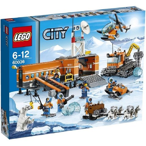 Do choi LEGO 60036 - Can Cu Bac Cuc