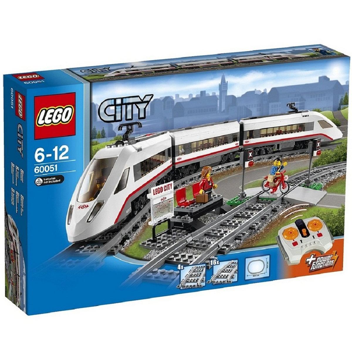 Do choi LEGO 60051 - Xe Lua Sieu Toc