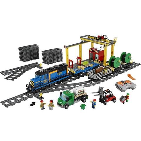 Do choi LEGO City 60052 - Xe Lua Van Tai
