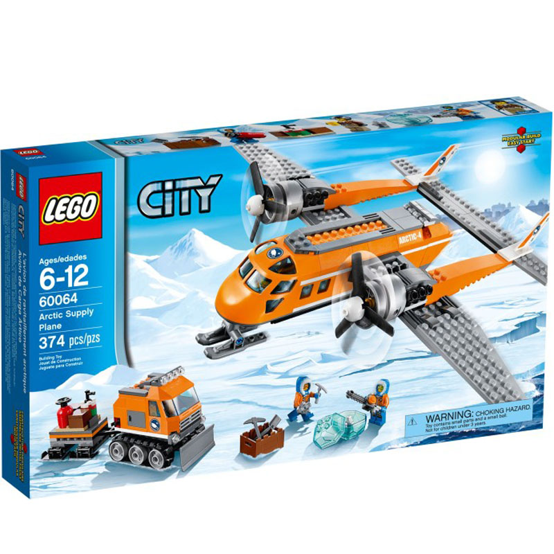 Do choi LEGO City 60064 - May bay tiep te