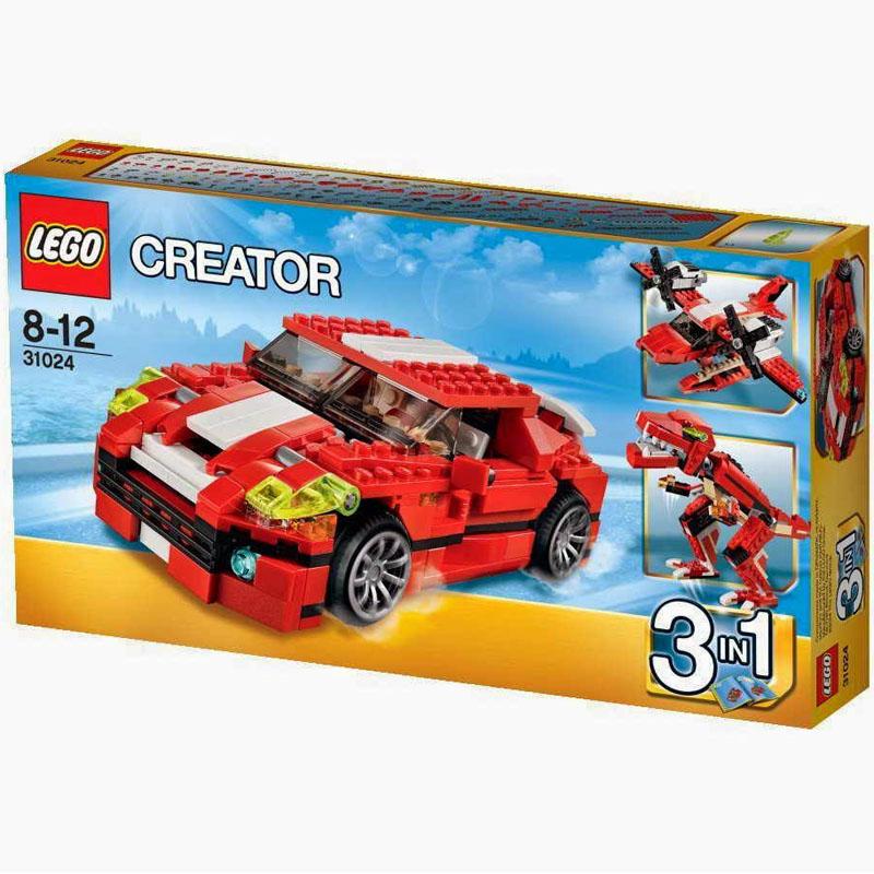 Do choi LEGO Creator 31024 - Tieng gam dong co