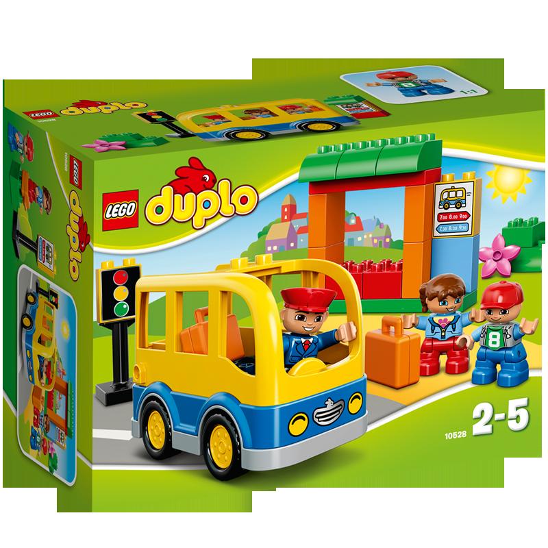 Do choi LEGO Duplo 10528 - Xe Buyt Truong Hoc