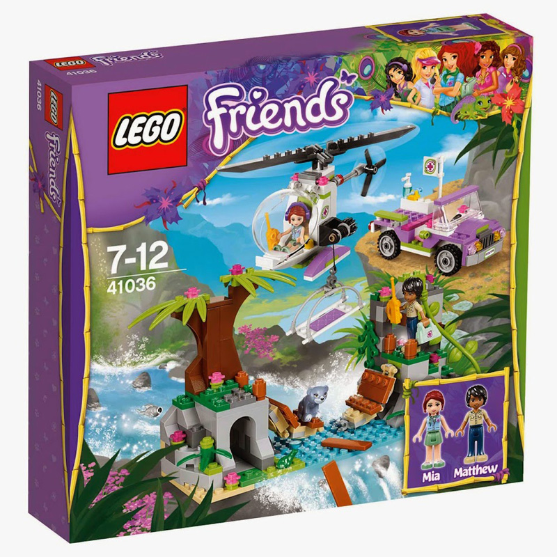 Do choi LEGO Friends 41036 - Cuu Ho Tai Cau Treo