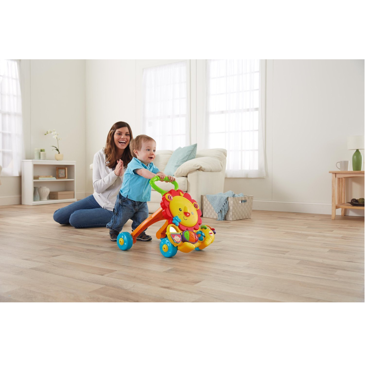 Xe tap di su tu Fisher Price Y9854 Musical Lion Walker