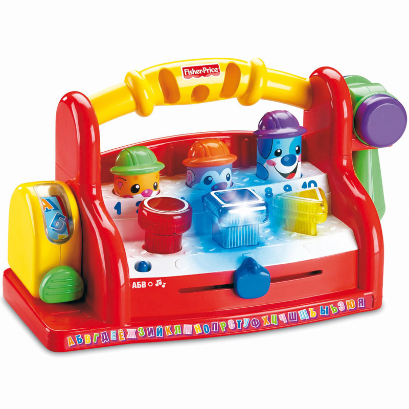 Do choi bo dap bua am nhac Fisher Price H0675