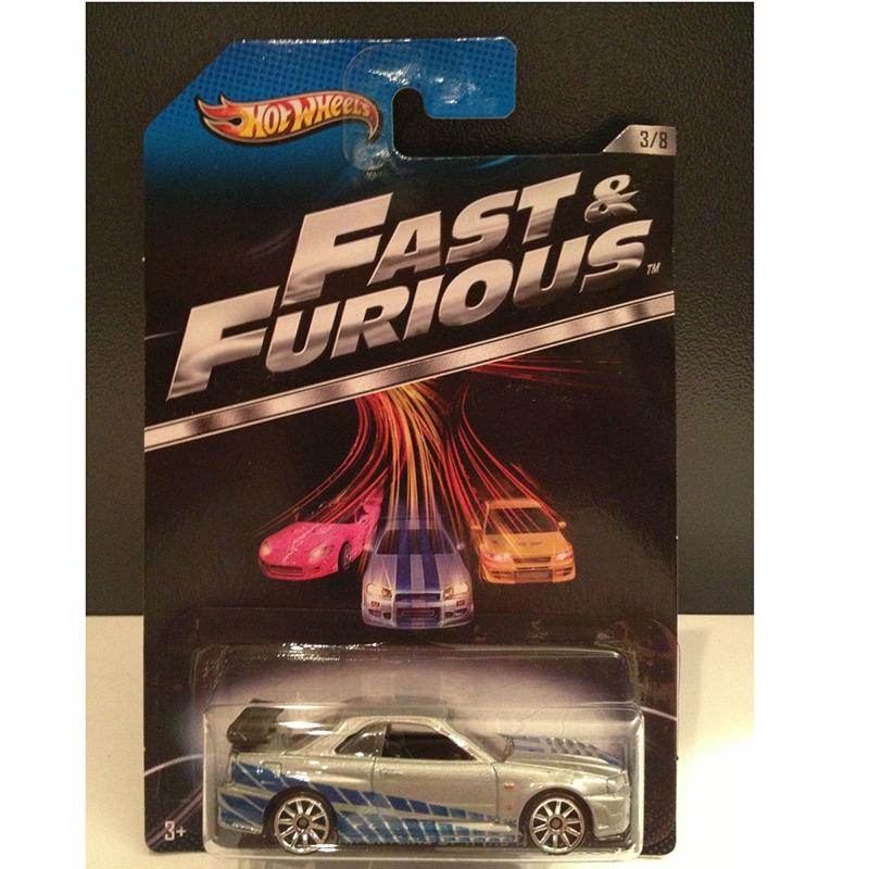 Xe mo hinh Fast va Furious