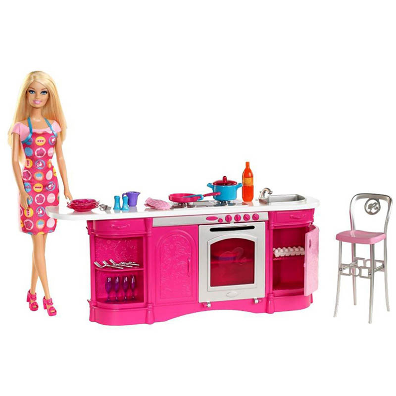 Gian bep sang trong Barbie X3229