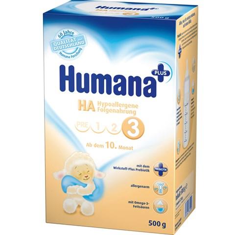 Sua Humana HA 3 danh cho tre de bi di ung (500g)