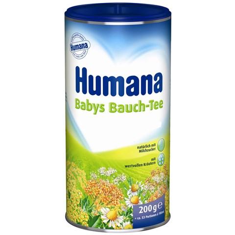 Tra thao duoc hoa tan Humana Babys Bauch – Tee