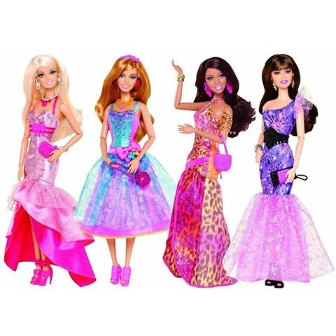 Tin do thoi trang trong trang phuc da hoi Barbie Y7495