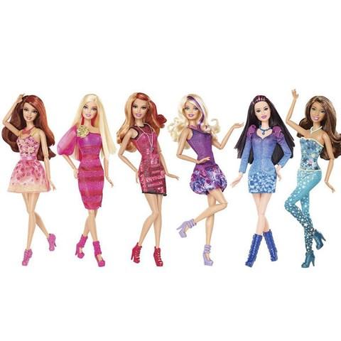 Tin do thoi trang Barbie Y5908