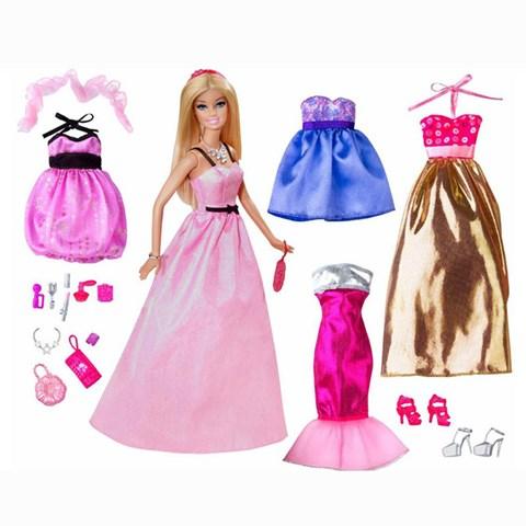 Bo suu tap thoi trang Barbie BCF75