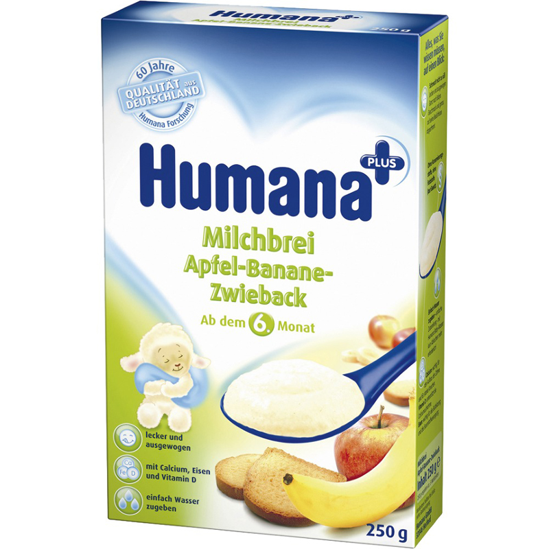 Bot an dam Humana tao chuoi banh Bit cot