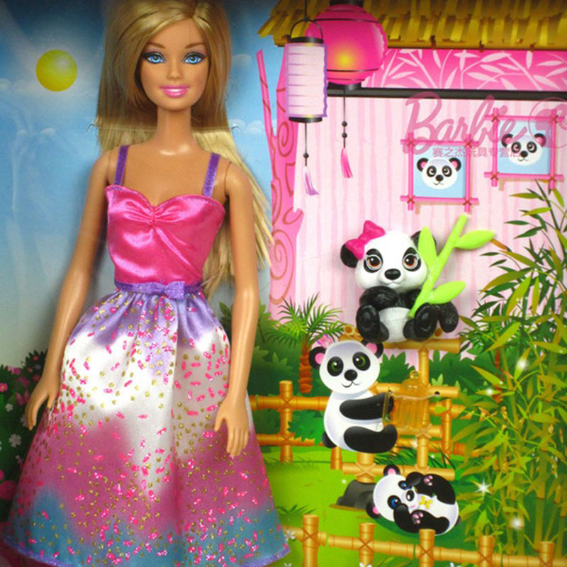 Bup be Barbie & Panda BCH55