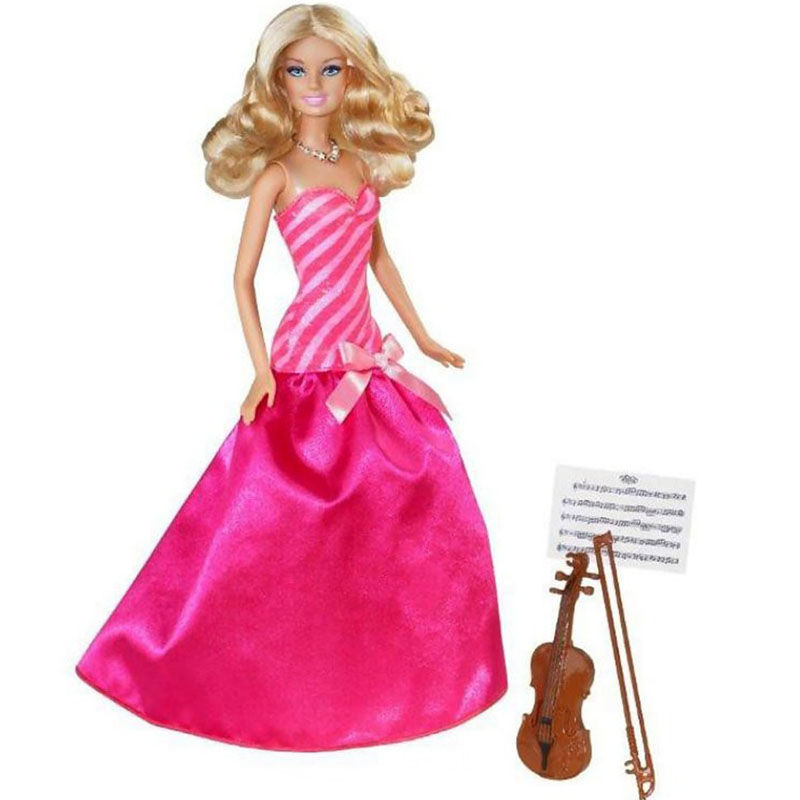 Nghe si Violin Barbie BCF78