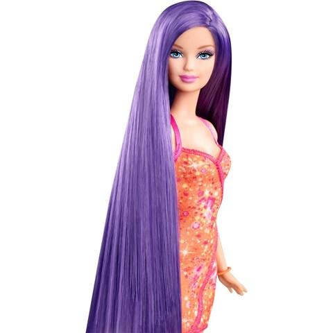 Nguoi mau toc may Barbie V9516