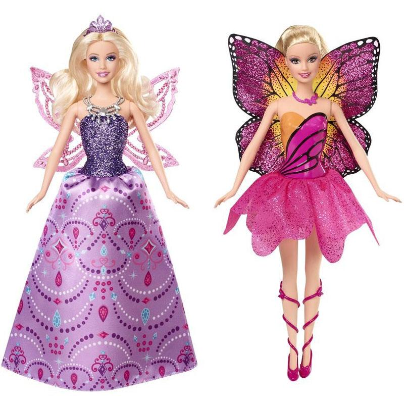 Mariposa va cac kieu trang phuc khac nhau Barbie Y6401