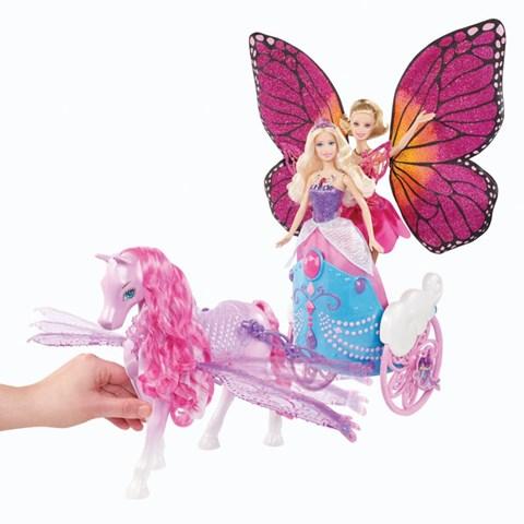 Xe ngua than ky Barbie Y6382