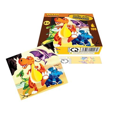 Xep hinh Puzzle biet doi Dinosaurs WD289