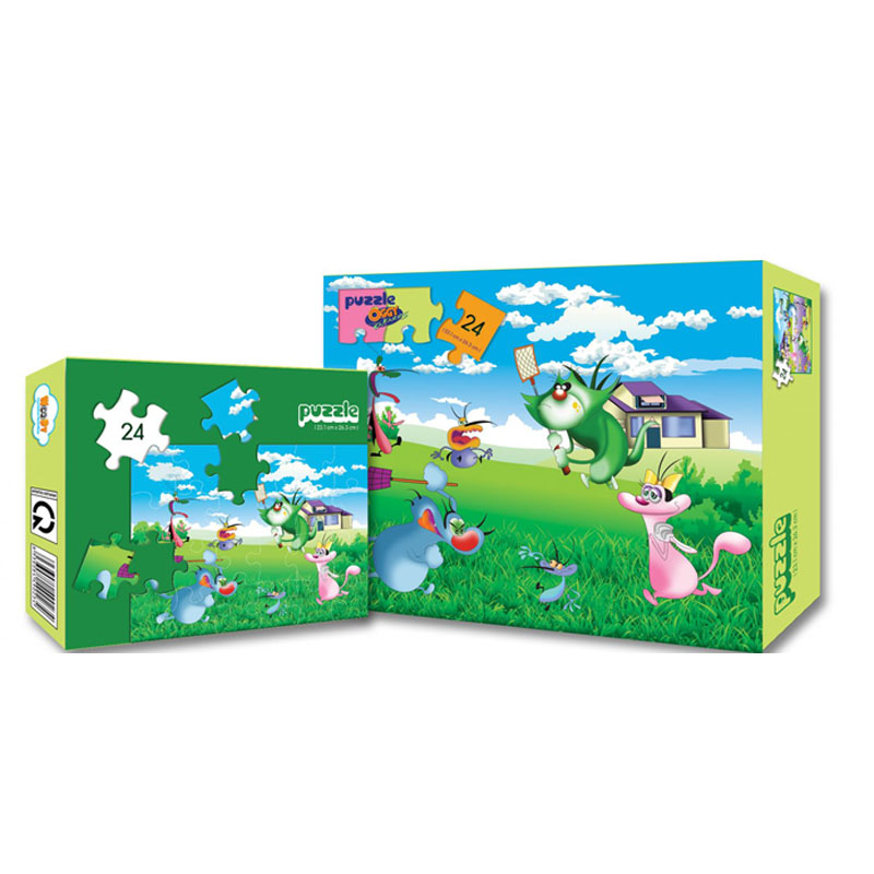 Xep hinh Puzzle Oggy WD241