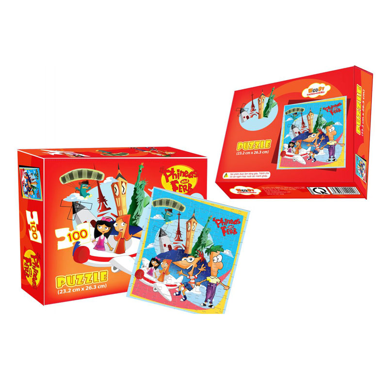 Xep hinh Puzzle Phineas and Ferb WD296