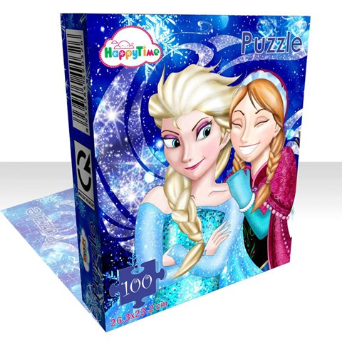 Xep hinh Frozen Puzzle WD326
