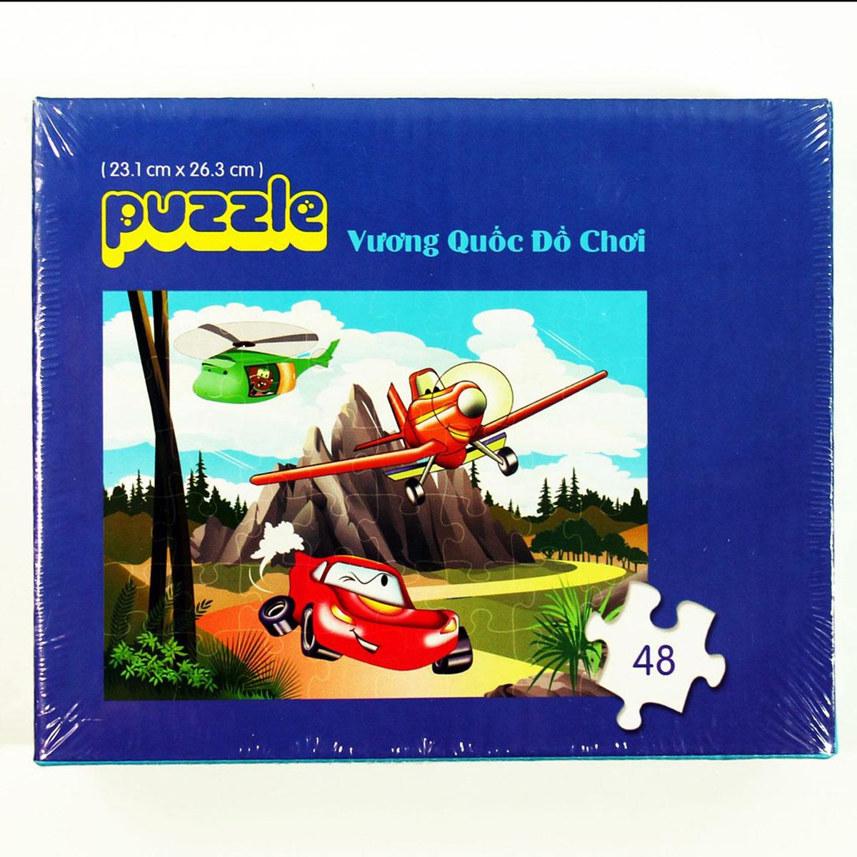 Xep hinh Puzzle Vuong quoc do choi WD227